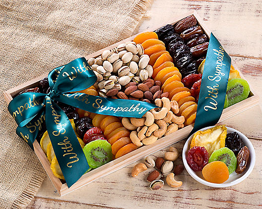 Dried Fruit and Nut Collection Sympathy Gift