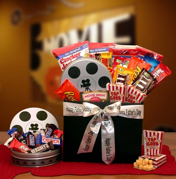 Father's Day Movie Festival Gift Basket