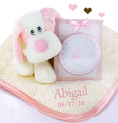 Personalized Fattamano Keepsake Gift Set For Girl