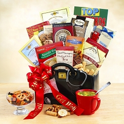 Feel Better Soon: Get Well Gift Basket