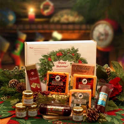Festive Holidays: Holiday Gourmet Food Sampler