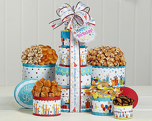 Festive Wish: Birthday Gift Tower