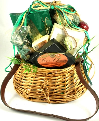 Fishing Fanatic: Snacks Fishing Gift Basket