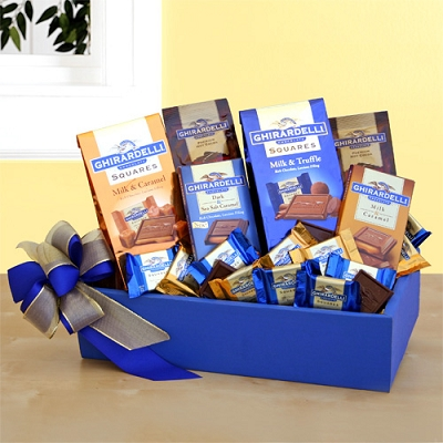 Ghirardelli Chocolate Sampler Gift Basket