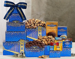 Canada Ghirardelli Tower Gift Basket
