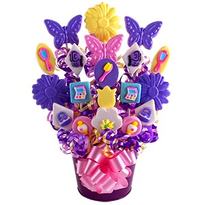 Girl's Lollipop Bouquet