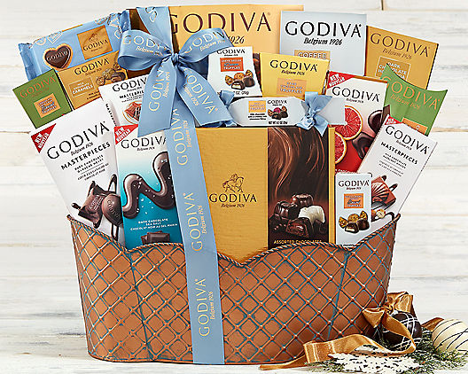 Godiva Chocolate Delights Gift Basket