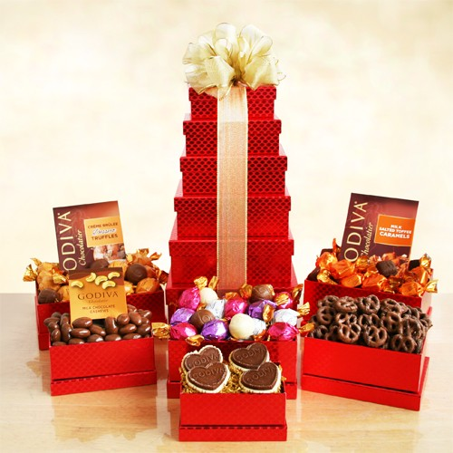 Godiva Festive Holiday Tower