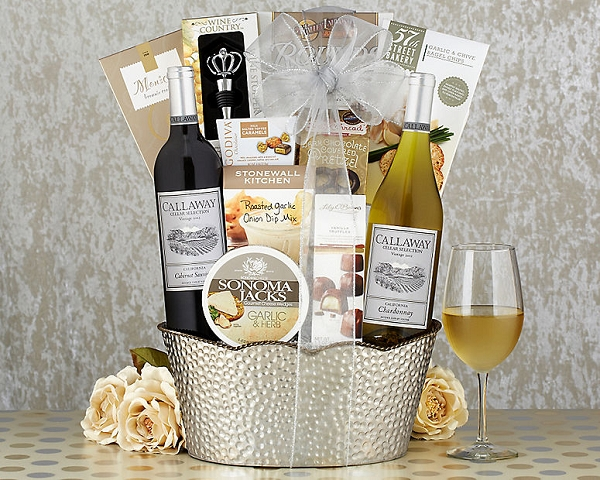 Gourmet & Cabernet Wine Luxury Gift Basket Sale