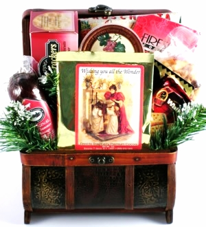 Gourmet Food Holiday Treasures Gift Basket