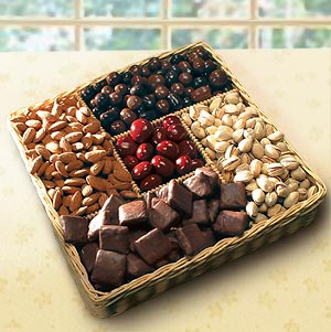 Grand Treat: Sweet & Snacks Basket