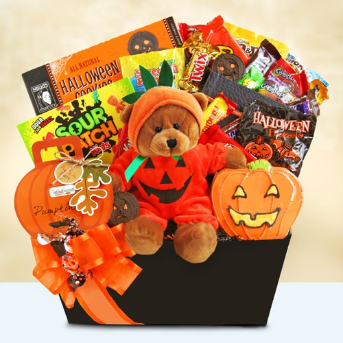 Halloween Party Delights Gift Basket