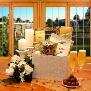 Happy Ever After Wedding Gift Basket