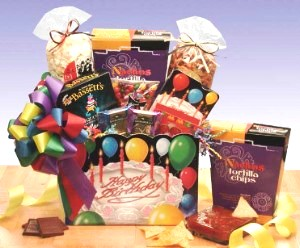 Delectable Happy Birthday Gift Basket
