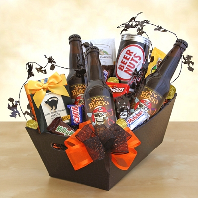 Snacks and Root Beer Gift Basket
