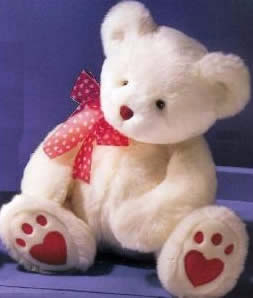 Russ Thoughts Of Love Heartley Teddy Bear