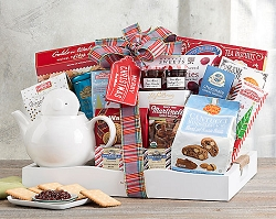 Holiday Tea Delight Gift Basket