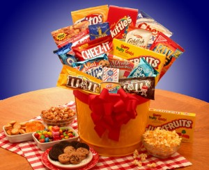 Junk Food Delight Gift Baskets