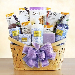 Luxury Lavender Bliss Spa Gift Basket