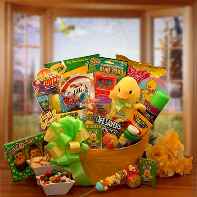 Little Duckling: Easter Basket For Kids
