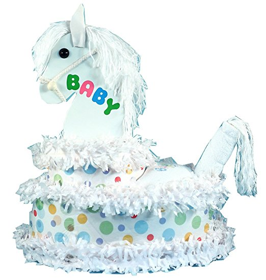 My Adorable Pony Diaper Cake Baby Gift