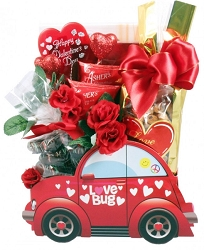 The Love Mobile Valentines Day Gift Basket