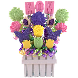 Mom Celebration Lollipop Bouquet