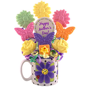 Mothers Day Sweet Surprise Candy Bouquet