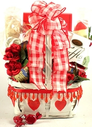 My Love For You: Valentine's Day Gift Basket