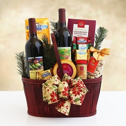 Napa Valley Wine & Gourmet Gift Basket