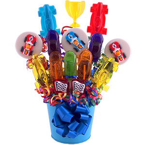 Racer Lollipop Bouquet