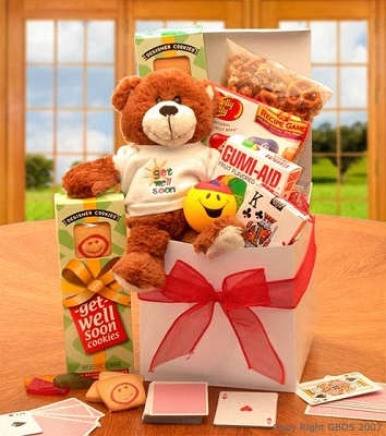 Ray Of Sunshine Get Well Gift Basket