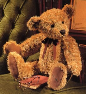 Russ Wellesley Limited Edition Teddy Bear - Russ Signature  2003