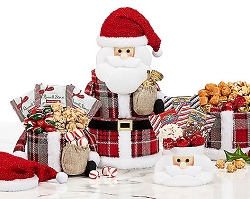 Santa's Holiday Favorites Gift Tower