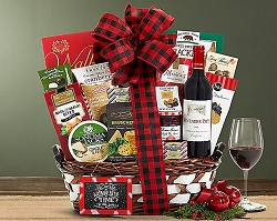 Season's Greetings Cabernet Holiday Gift Basket