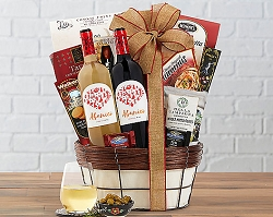 Spanish Wine Duet Gift Basket