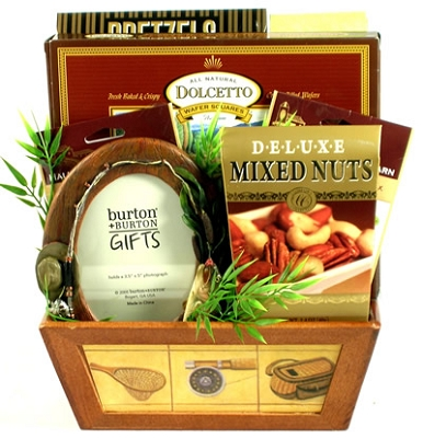 Sports Fan: Sport Fishing Gift Basket
