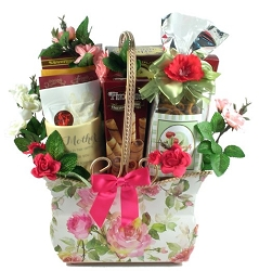 Surprises Of Sweets For Mom Gift Basket