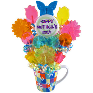 Sweetest Flowers: Mothers Day Candy Bouquet