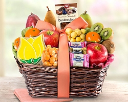 Sweets and Fruits Gift Basket