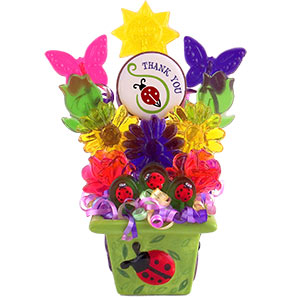 Thanks For All You Do Lollipop Bouquet