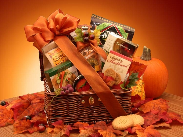Fall Radiance Gourmet Gift Basket