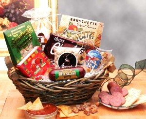The Classic Snack Gift Basket