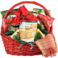 A Country Christmas Gourmet Breakfast Gift Basket