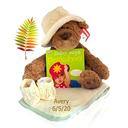 BABY FATTAMANO BABY  BLANKET & BEAR-LIMITED EDITION