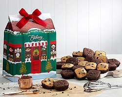 Belgian Chocolate Brownie Bakery Gift