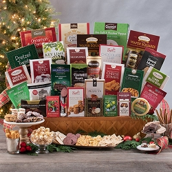 Christmas Grand Gourmet Holiday Gift Basket