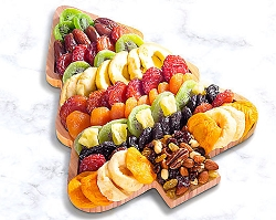Christmas Tree Dried Fruit and Nut  Tray