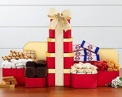Deluxe Chocolate and Brownie Gift Tower