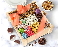 Deluxe Mother's Day Sweets & Treats Gift Crate
